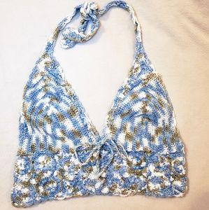 NWOT Billabong Crochet Bralette